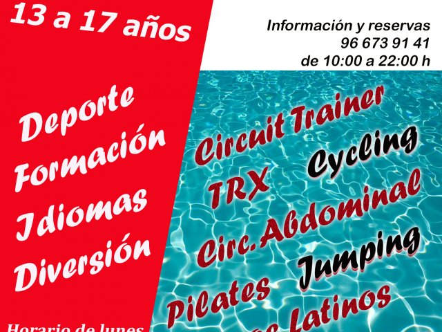 Cartel campus JR verano